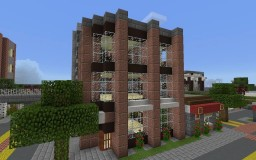 225 Cross Street- Mid-Rise Office Building Minecraft Map & Project