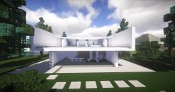 Aluminum House Minecraft Map & Project