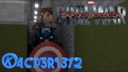 Captain America: Civil War Animation! Minecraft Map & Project