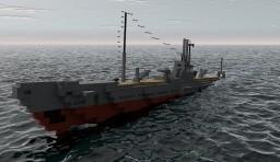 IJN SS I-168 Minecraft