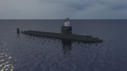 USN SSN Los Angeles Class Minecraft
