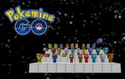 Pokemine GO | One Command Minecraft Map & Project