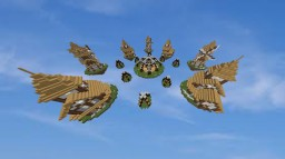 Medieval Map Skywars Minecraft Map & Project