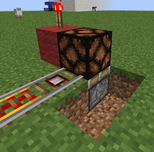 how to make a powered minecart