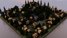 Medieval Town Spawn Minecraft Map & Project