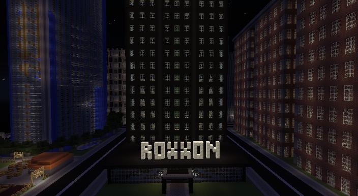 the Roxxon Building