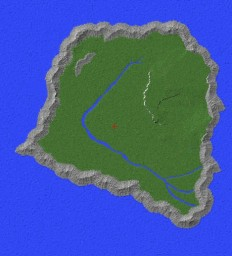 Isla Sorna (novel version) Full Size Minecraft