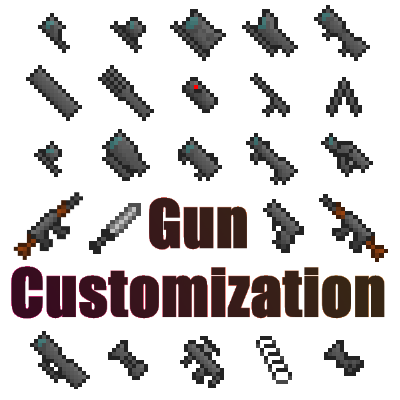Gun Customization Minecraft Mod