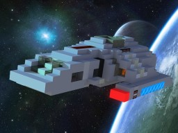 Danube-Class Runabout (1:1 Scale) Minecraft Project