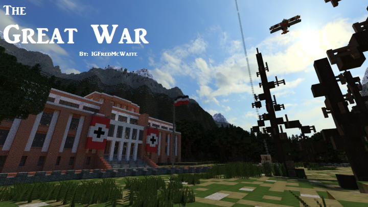 The Great War | Battlefield 1 Inspired Map w/ Download Minecraft Project
