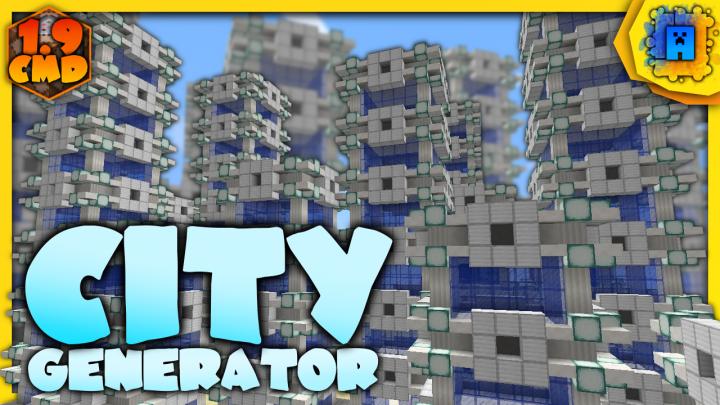 City Generator. Video Thumbnail.