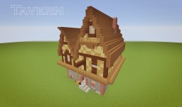 Medieval Tavern Minecraft Map & Project