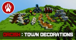 Orcish Town Decorations Tutorial Minecraft Map & Project