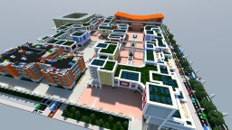 Symount City: Open-air shopping mall Minecraft Map & Project