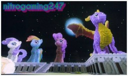 3D ponies on survival Minecraft Map & Project