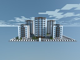 Build Of Majoras | MDRN Apartments #3 [Download] Minecraft Map & Project