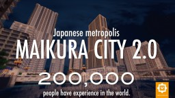 MAIKURA CITY 2.0 Japanese metropolis Minecraft