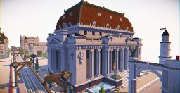 Spleef Arena & Masonic Lodge Minecraft