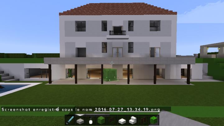 Belle maison minecraft gascity for - Comment creer une belle maison dans minecraft ...