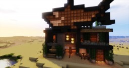 Sharkfin Sushi Restaurant Minecraft Map & Project