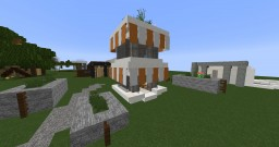 Little Modern House-Building Minecraft Map & Project