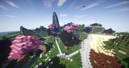 Japanese Island - Zen-Att City Minecraft Map & Project