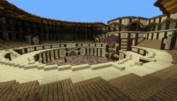 Roman Styled PVP Arena Minecraft Map & Project