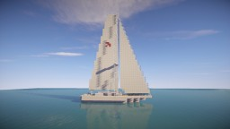 Sailing Yacht Minecraft Map & Project