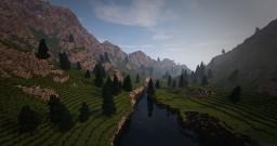 Custom terrain - First small map - 512x512 blocks