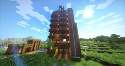 Dirt Modern Building Minecraft Map & Project
