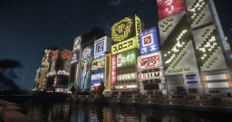 Downtown of Japan Minecraft