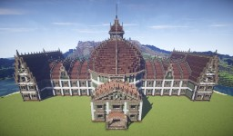 RPG Library Minecraft Map & Project