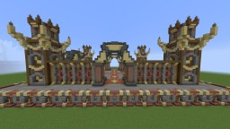 Factions Server Spawn Minecraft Map & Project