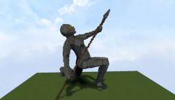 Stone Statue Minecraft