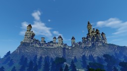 Gondolin - The hidden City (LOTR inspired) Minecraft Map & Project