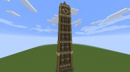 London eye and Bigben Minecraft Map & Project