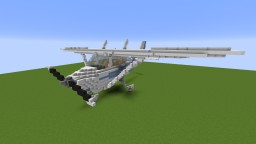 Giant Cessna 172 Minecraft Map & Project