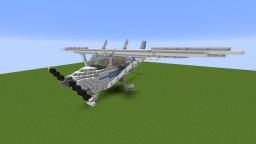 Giant Cessna 172 Minecraft