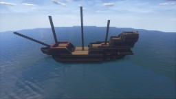 Golden Hind Minecraft Map & Project