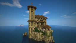 Costiero Palazzo / Seaside Mansion Minecraft Map & Project