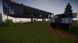 modern beach side house Minecraft Map & Project