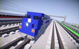 Metro-North Railroad GE Genesis Passenger Train Minecraft