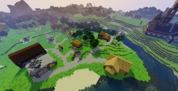 Town Minecraft Map & Project