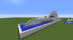 Modern Yacht by criik - Design by MCPro Minecraft Map & Project