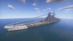 Fictional German Battleship ''Hindenburg'' (modified) Minecraft Map & Project