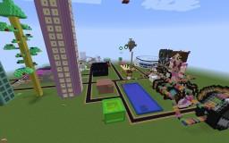 PopularMMOs Theme Park Minecraft Map & Project