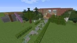 Huge villa/mansion for everyone Minecraft Map & Project