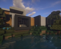 Modern House 5 Minecraft Project
