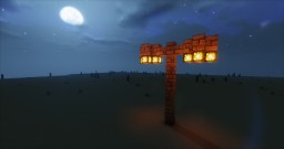 Working Street Light Minecraft Map & Project