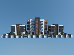 Build Of Majoras | MDRN Apartments #2 [Download] Minecraft Project
